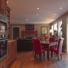 Transitional Kitchen by A Kitchen That Works LLC