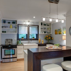 Transitional Kitchen by Wall to Wall Home Concepts, LLC