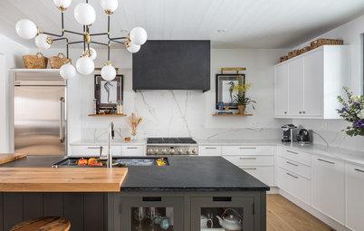 A Fresh Take on a Modern Farmhouse Kitchen