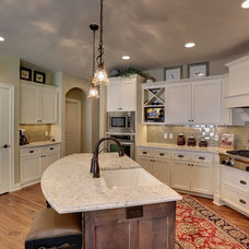 Eclectic Kitchen by Iverson Homes