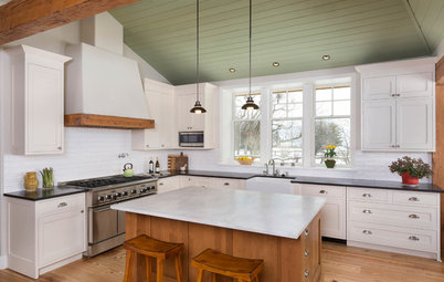 New This Week: 3 Gorgeous White-and-Wood Kitchens