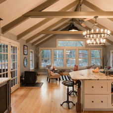 Farmhouse Kitchen by New England Design Elements