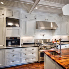 Traditional Kitchen by Gulfshore Design