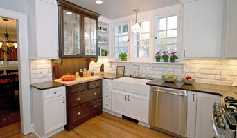 Farmhouse-inspired kitchen
