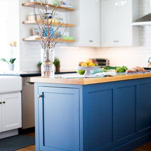 Farmhouse Inspired Kitchen Renovation and Living Room in Narberth