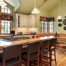 Farmhouse Kitchen by Avenue Interiors