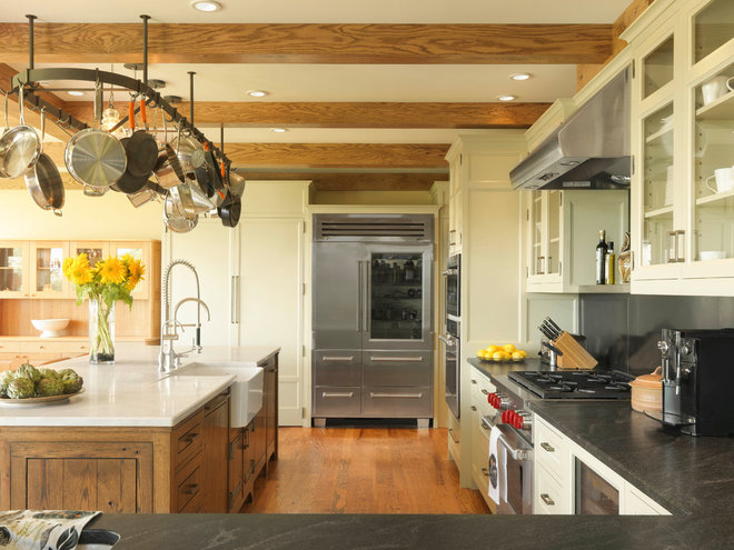 Farmhouse Kitchen by Cushman Design Group