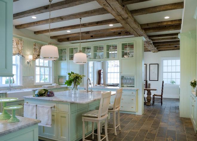 Farmhouse Kitchen by Donald Lococo Architects