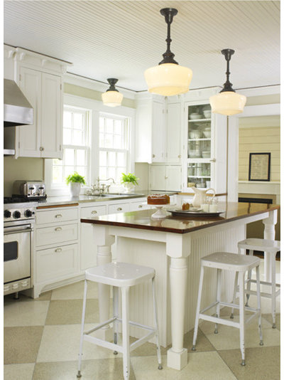Traditional Kitchen Farmhouse Kitchen from School House Electric