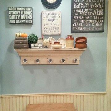 Farmhouse Kitchen Gallery Wall