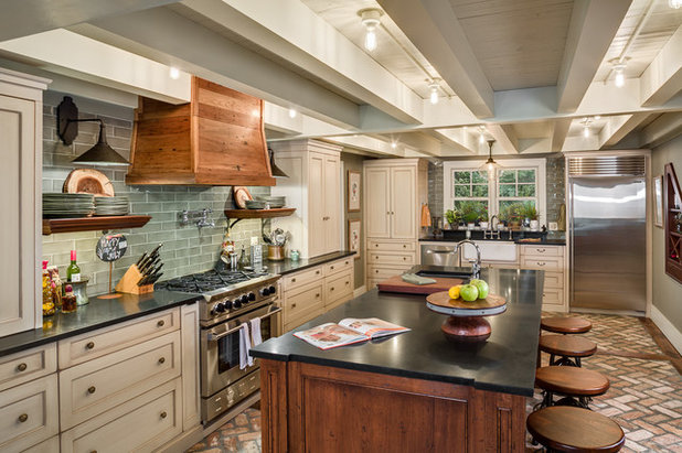 Kitchen Of The Week Raising The Ceiling In A Creative Way