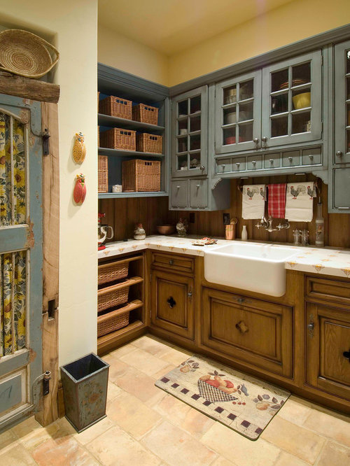 Painted And Stained Cabinets Ideas Pictures Remodel And