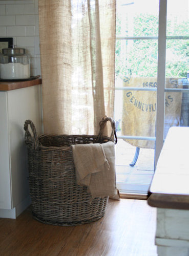 Burlap Curtain Ideas, Pictures, Remodel and Decor