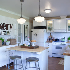 Farmhouse Kitchen by The Old Painted Cottage