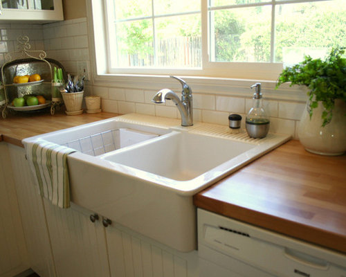 ikea farmhouse sink houzz. Black Bedroom Furniture Sets. Home Design Ideas