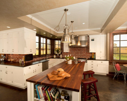 how to do kitchen backsplash brick backsplash houzz 7245
