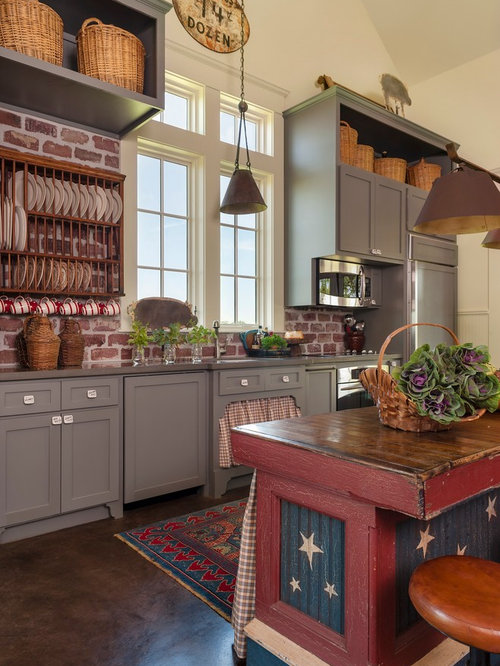 Saveemail Farmhouse Kitchen