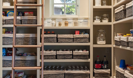 80 Pretty and Practical Kitchen Pantries