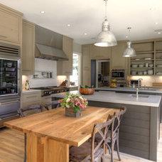 Contemporary Kitchen Farmhouse Kitchen