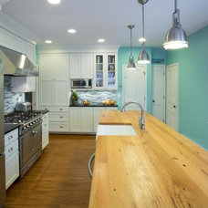 Farmhouse Kitchen by Joe Gelletich of Signature Kitchens and Baths