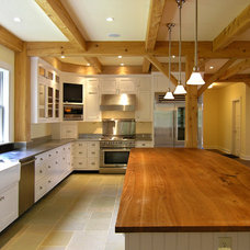 farmhouse kitchen by Perkins Smith Design Build