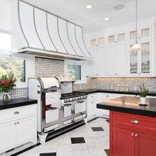 Farmhouse Kitchen by Precision Cabinets