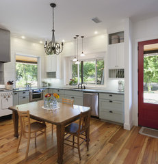 traditional kitchen by Rauser Design