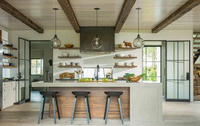 New This Week: 3 Kitchens That Nail Modern Farmhouse Style