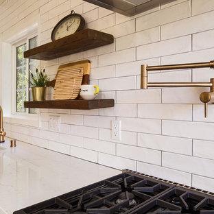 Farmhouse kitchen unleashed in Toluca Lake, CA