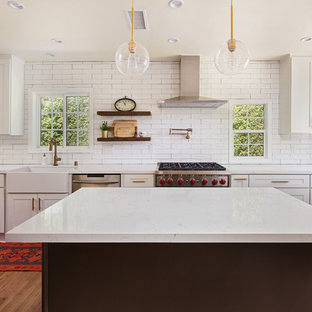 Farmhouse kitchen unleashed in Toluca Lake, CA