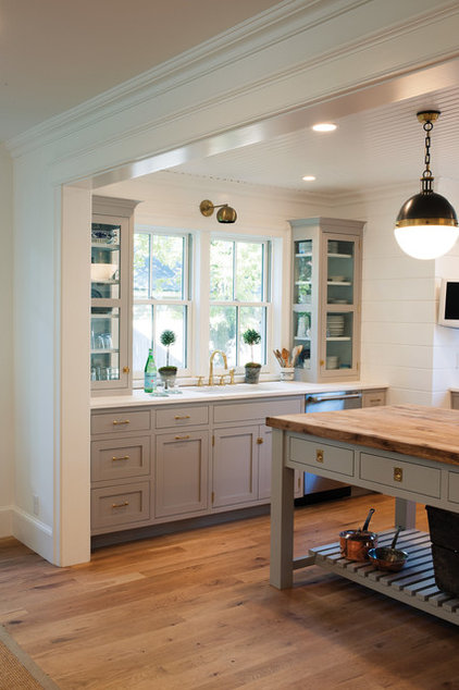 Kitchen of the Week: Modern Update for a Historic Farmhouse Kitchen