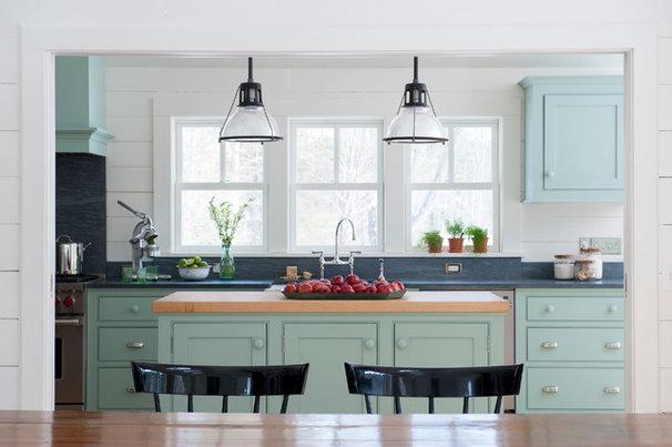 Farmhouse Kitchen by Brooks Custom