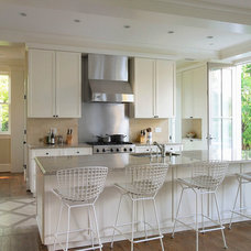 Traditional Kitchen by Overmyer Architects