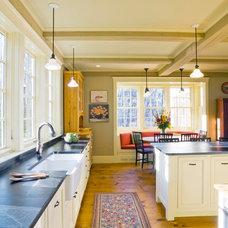 Farmhouse Kitchen by Cushman Design Group