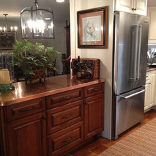 Traditional Kitchen by Lowe's of Hillsborough, NJ