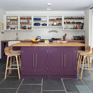 Farmhouse Style Kitchen - Contemporary Glass House Wiltshire