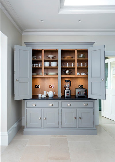 Transitional Kitchen by Lewis Alderson & Co.