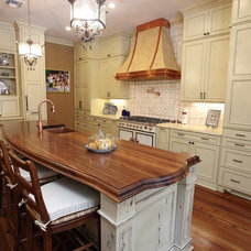Traditional Kitchen by Kerry Flanagan of Factory Builder Stores