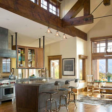 Rustic Kitchen by Studio 80 Interior Design