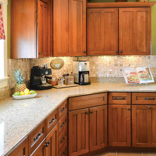Cream Quartz Countertops | Houzz