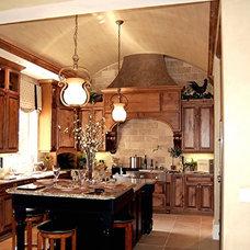 Mediterranean Kitchen by Speir Faux Finishes, Inc.