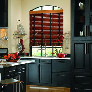FAUX WOOD BLINDS with CLOTH TAPE - Lafayette Fidelis Faux Wood Blinds