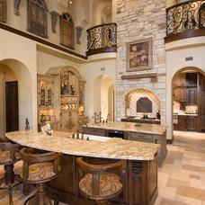 Mediterranean Kitchen by Patrick Berrios Designs