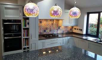 Feature Tile Splashback for Kitchen