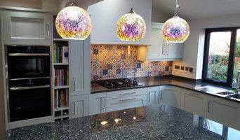 Feature Tile Splashback for Kitchen