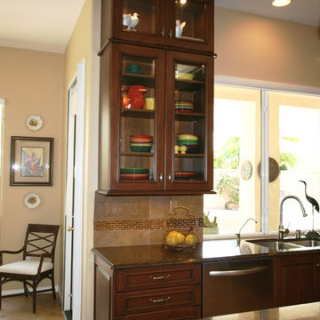 Feature wall cabinet