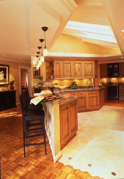 Eclectic Kitchen by Danenberg Design