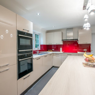 FEATURED PROJECT: Striking Cherry Splashback, Chigwell, IG7