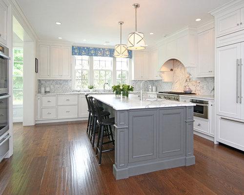 Gray And White Kitchens | Houzz
