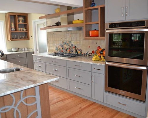 Cabinets by cabico kitchen with gray cabinets design ideas for Cabico kitchen cabinets